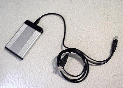 USBハードディスク