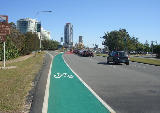 オーストラリア 車道 歩道