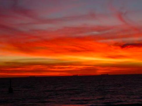 コテスロービーチ サンセット