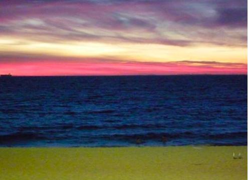 コテスロビーチ サンセット