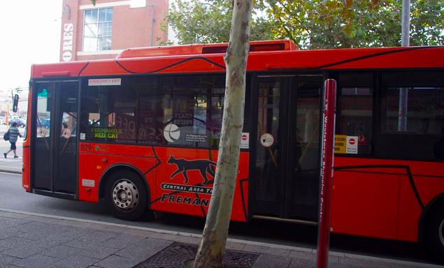 無料バス フリーマントル