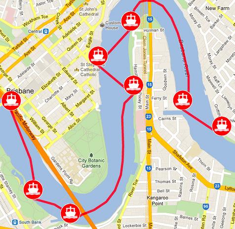 シティホッパー 地図